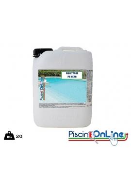 PH MENO LIQUIDO 20 lt TRATTAMENTO ACQUA PISCINA - offerte prodotti chimici per pulizia piscina online