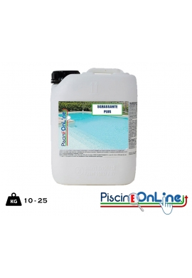 DETERGENTE SGRASSANTE PER PISCINE - 10 - 25 lt - - offerte prodotti chimici per pulizia piscina online