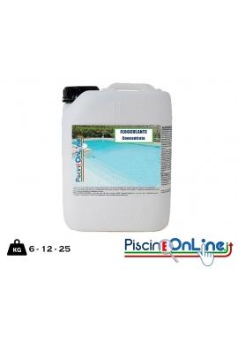 WATER FLOK 6/12/25 LT FLOCCULANTE LIQUIDO CONCENTRATO SPECIFICO PER TRATTAMENTI URTO IN ACQUE DI PISCINA OFFERTE ONLINE