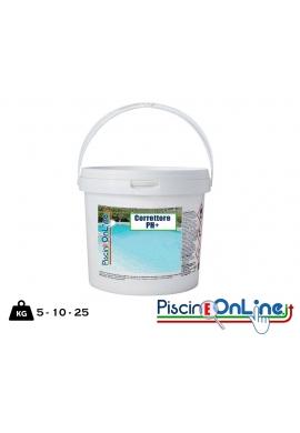 PH PLUS GRANULARE 5/10/25 KG - CORRETTORE IN FORMA GRANULARE SPECIFICO PER AUMENTARE IL VALORE DEL PH + OFFERTE PISCINA ONLINE