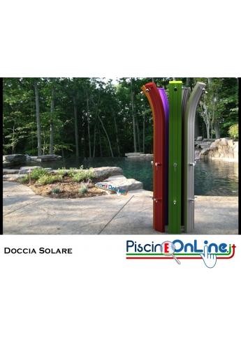 DOCCIA SOLARE - SPRING - CON SERBATOIO DA 30LT - 8 COLORAZIONI