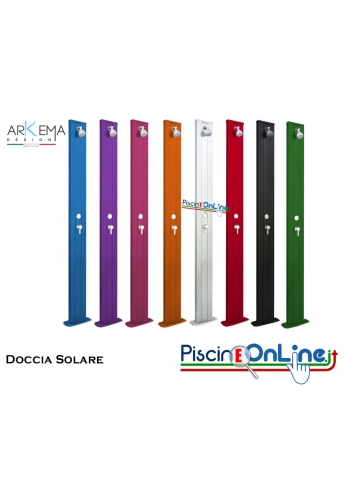 DOCCIA SOLARE - SPRING STRAIGHT - CON SERBATOIO DA 30 LT