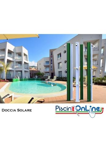 Doccia solare JOLLY STRAIGHT CON SERBATOIO DA 25LT CON 9 COLORAZIONI