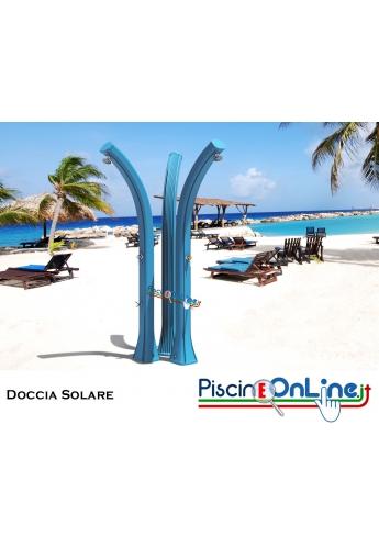 DOCCIA SOLARE - HAPPY FIVE - IN POLIETILENE - CON SERBATOIO 28 LT