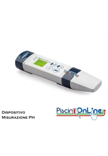 DISPOSITIVO SD PER LA MISURAZIONE DEL PH IN PISCINA