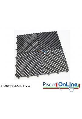 PIASTRELLA IN PVC MODELLO MODENA - IDEALE PER BORDO PISCINA, DOCCE E TERME. DIMENSIONI 20 X 20 CM
