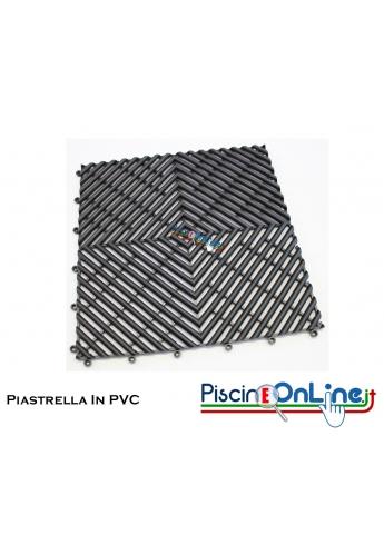 PIASTRELLA IN PVC MODELLO MODENA - IDEALE PER BORDO PISCINA, DOCCE E TERME. DIMENSIONI 30.4 X 30.4 CM