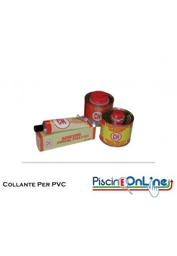 COLLANTE THF PER PVC - 3 CONFEZIONI DA 125 / 500 / 1000 GRAMMI