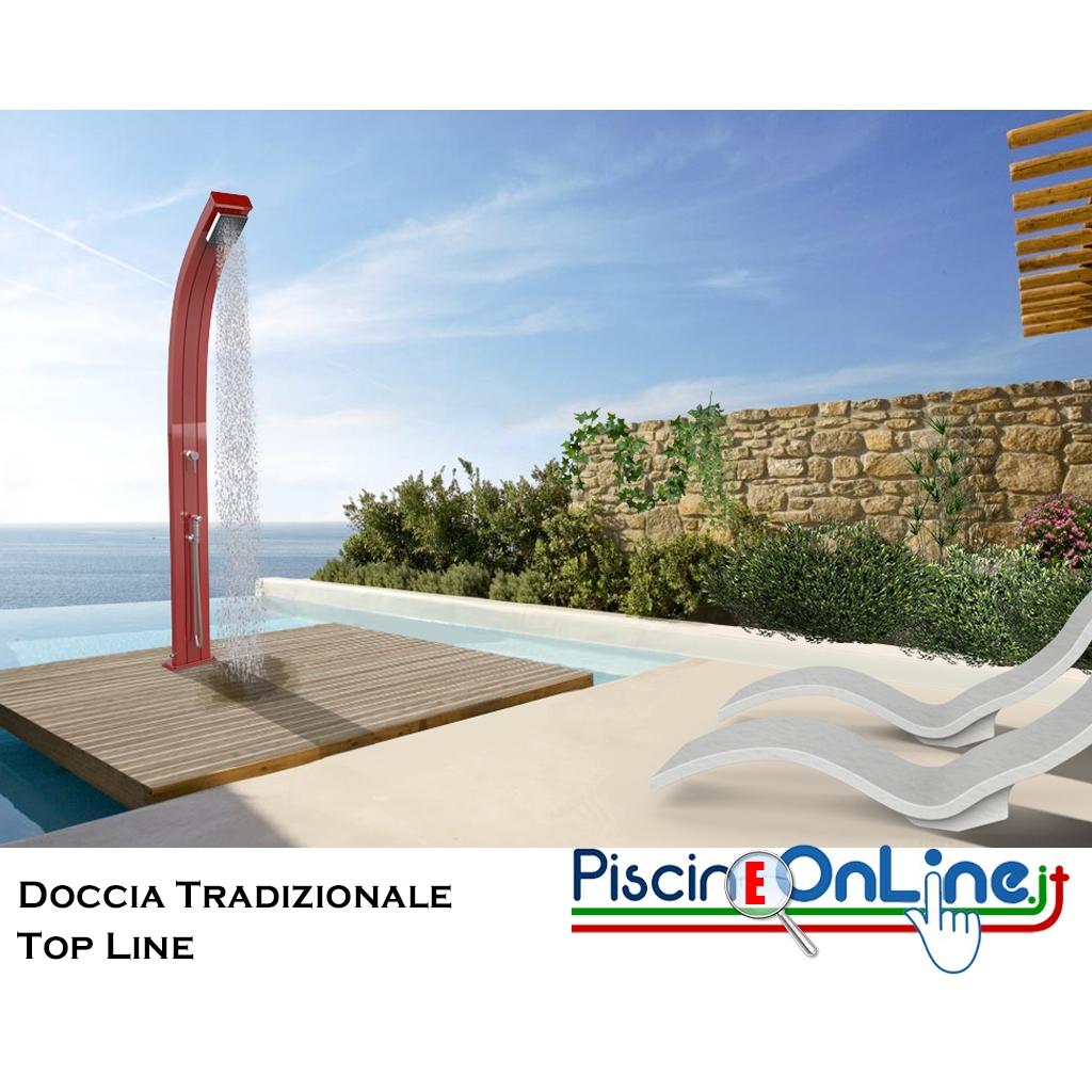 Doccia Solare Spring Serie Top Line 2018 In Alluminio