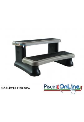 SCALETTA PER SPA - 90 X 61 CM - ALTEZZA 40 CM - ACCESSORI OPTIONAL PER SPA E VASCHE IDROMASSAGGIO