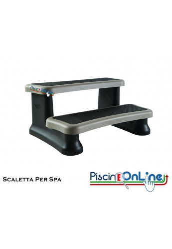 Accessori Per Vasca Idromassaggio.Scaletta Per Spa 90 X 61 Cm Altezza 40 Cm Accessori Optional Per Spa E Vasche Idromassaggio Piscineonline It