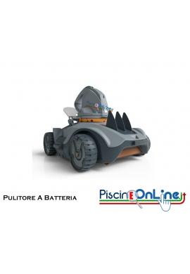 PULITORE A BATTERIA VEKTRO AUTO - 100% AUTONOMO - AUTONOMIA DI 1 ORA PER PISCINE FINO A 45 METRI QUADRATI