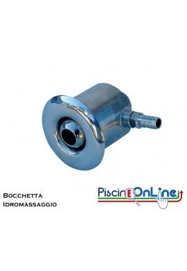BOCCHETTA IDROMASSAGGIO IN ACCIAIO INOX AISI 316 L