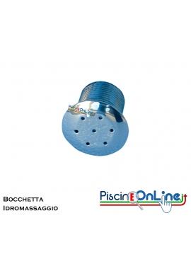 """BOCCHETTA IDROMASSAGGIO IN ACCIAIO INOX AISI 316 L - ATTACCO DA 1/2"""" POLLICE-M- PER CLS"""