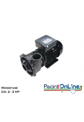 POMPA WATERWAY - POMPA INDICATA PER IDROMASSAGGIO CON MOTORE MONOFASE 2 - 3 HP