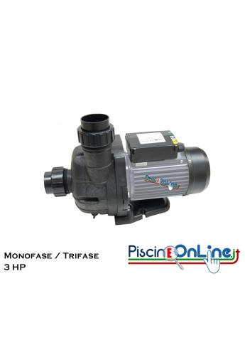 POMPA MGD 3 HP - POMPA AUTOADESCANTE FINO A 50 CM CON PORTATA A PREVALENZA ELEVATA IP55 CLASSE F - MONOFASE / TRIFASE