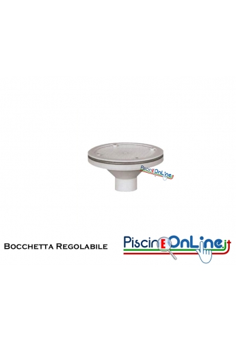 BOCCHETTA A PAVIMENTO / PARETE IN ABS REGOLABILE DIAMETRO 339 mm
