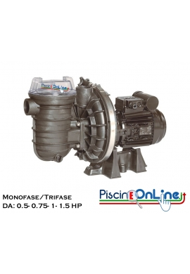 POMPA STA-RITE 5P2R STANDARD DA 0.5 a 1.5 HP MONOFASE - TRIFASE