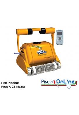 PULITORE FLIPPER PRO X2 MAYTRONICS - ADATTO PER PISCINE PUBBLICHE LUNGHE FINO A 25 METRI - CICLO DI PULIZIA 4-6-8 ORE