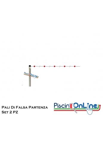 PALI DI FALSA PARTENZA - SET 2 PEZZI IN ACCIAIO INOX