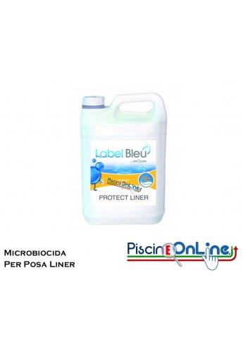 PROTECT LINER - PRODOTTO MICROBIOCIDA ANTI MUFFA DA APPLICARE SUI MURI PRIMA DELLA POSA DEL LINER IN PISCINA - CONF. DA 5 L