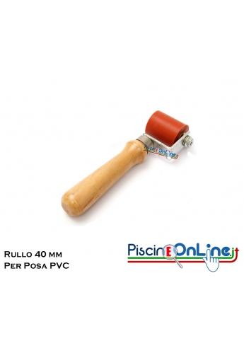 RULLINO 4 CM PER SALDATORE PER PVC ARMATO CON REGOLAZIONE CONTINUA DELLA TEMPERATURA - LEISTER TRIAC ST