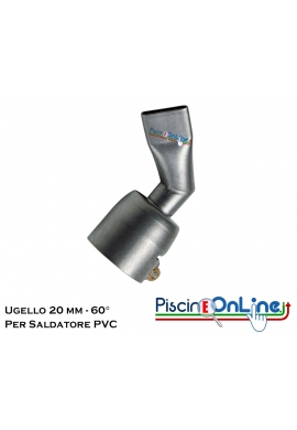 UGELLO MM 20 PER SALDATURA TELO IN PVC - ACCESSORI PER SALDATORE LEISTER TRIAC ST