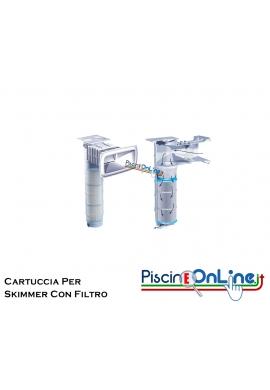 CARTUCCE DI RICAMBIO PER SKIMMER A GRANDE APERTURA CON FILTRO A CARTUCCIA - 2 MODELLI