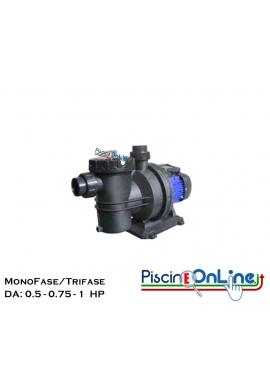 POMPA PER FILTRAZIONE PISCINA DA - 05 - 0.75 - 1 - HP