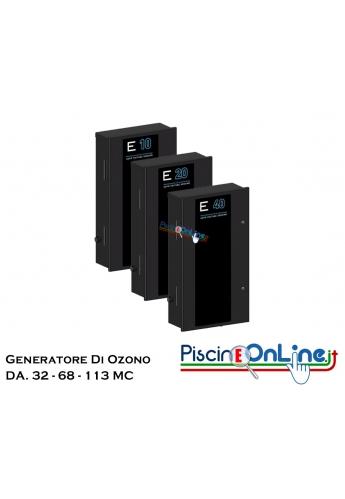 GENERATORE DI OZONO PER PISCINE - INCLUSO KIT DI INSTALLAZIONE - 3 MODELLI PER PISCINE DA 32 A 113 MC