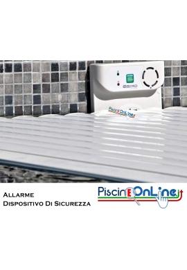 SISTEMA DI ALLARME AD IMMERSIONE CON RILEVAMENTO CADUTA PER PISCINE FAMILIARI MAX 10 X 5 M