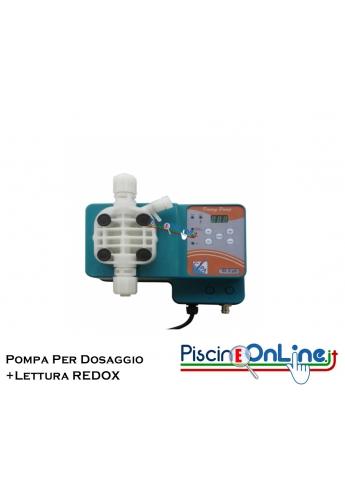 POMPA ELETTROMAGNETICA DIGITALE PER DOSAGGIO PROPORZIONALE DI REDOX