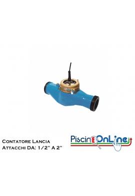 "CONTATORE LANCIA IMPULSI DA 1/2"" - 1"" 1/2 - 2"""