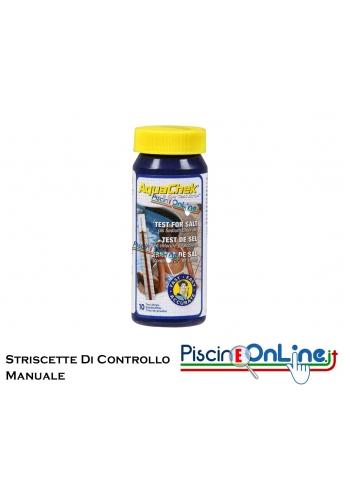 STRISCE PER IL CONTROLLO MANUALE DI SALE - 10 STRIPS A CONFEZIONE