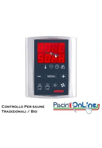 CONTROLLO DIGITALE PER STUFA - 2 VERSIONI - PER SAUNE TRADIZIONALI O BIO-SAUNA
