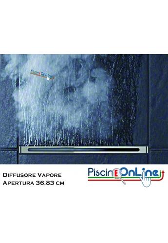 DIFFUSORE DI VAPORE PER BAGNO TURCO CON APERTURA DA 36.83 CM PER EFFETTO VAPORE CASCATA INVERSA