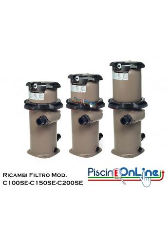 RICAMBI PER FILTRO A CARTUCCIA HAYWARD MODELLI C100SE/ C150SE/ C200SE