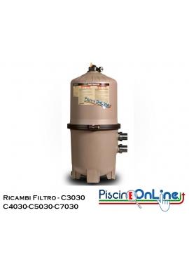 RICAMBI PER FILTRO A CARTUCCIA HAYWARD MODELLI C3030/ C4030/ C5030/ C7030