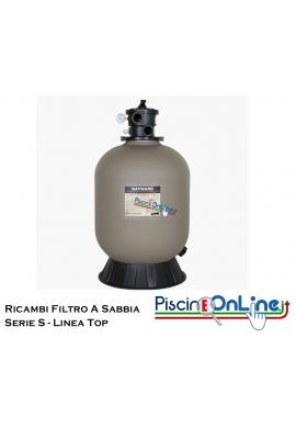 RICAMBI PER FILTRO A SABBIA HAYWARD LINEA TOP SERIE S