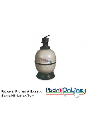 RICAMBI PER FILTRO A SABBIA HAYWARD LINEA TOP HI