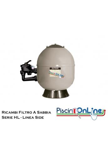 RICAMBI PER FILTRO A SABBIA HAYWARD LINEA SIDE HL