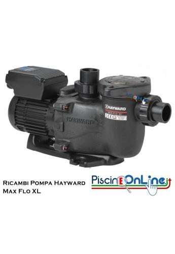 RICAMBI PER POMPA DI FILTRAZIONE MODELLO HAYWARD MAX FLO XL