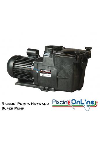 RICAMBI PER POMPA HAYWARD MODELLO SUPER PUMP
