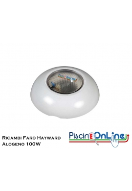 RICAMBI PER PROIETTORE ALOGENO HAYWARD - 100 WATT