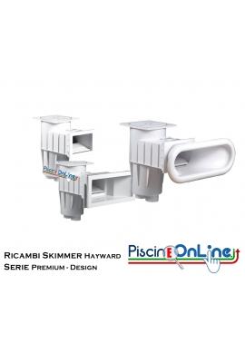 RICAMBI PER SKIMMER HAYWARD A BOCCA LARGA - SERIE PREMIUM E DESIGN
