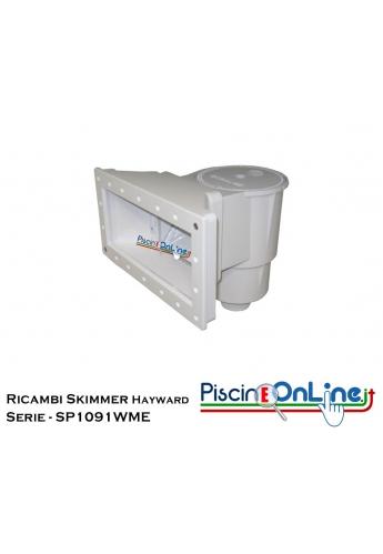RICAMBI PER SKIMMER HAYWARD A BOCCA LARGA - SERIE SP1091WME