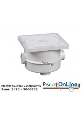 RICAMBI PER SCATOLA DI CONNESSIONE SERIE: 3495EURO / 3495HDP / 3495 / 3495S / SP0685E
