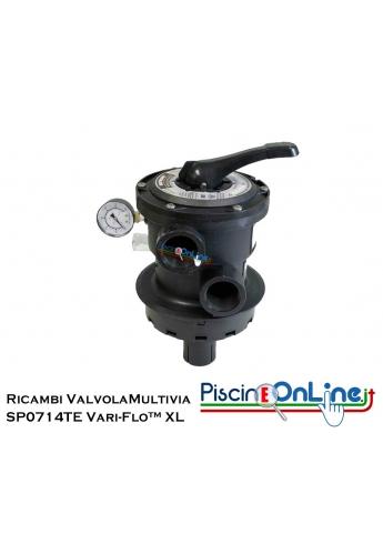 RICAMBI PER VALVOLA MULTIVIA HAYWARD SERIE: SP0714TE Vari-Flo™ XL