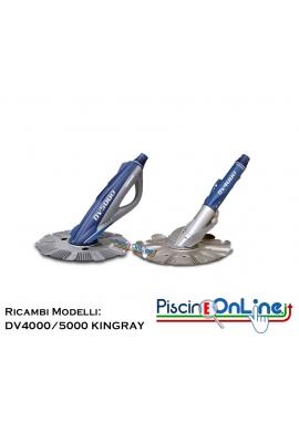 RICAMBI PER PULITORE IDRAULICO HAYWARD MODELLI: DV4000™ / DV5000™ / KINGRAY