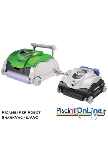 RICAMBI PER PULITORE IDRAULICO ROBOT HAYWARD MODELLI: SHARKVAC™ / EVAC™